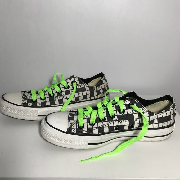 a17c5957376c Converse Shoes - Converse All Star Crossword Puzzle Women s 7